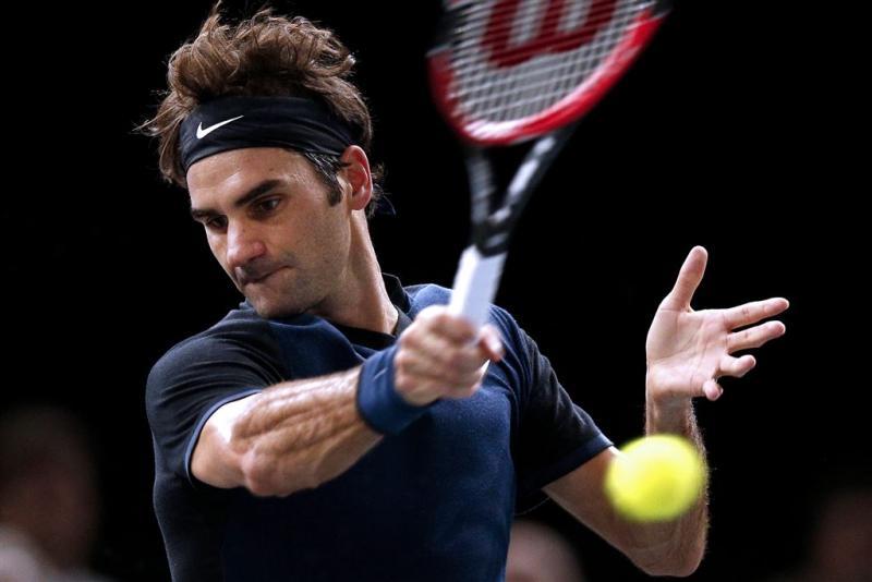 Federer heeft geen moeite met Berdych