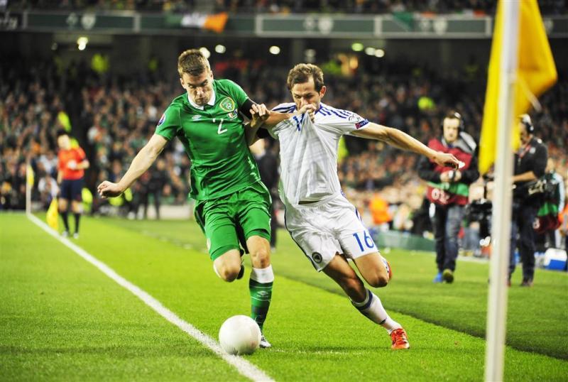Walters schiet Ierland naar EK