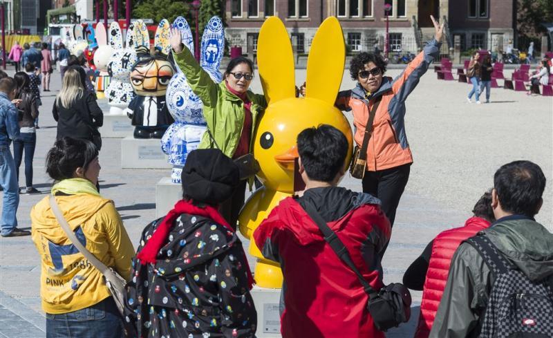 Sterke groei aantal buitenlandse toeristen