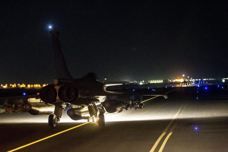 Weer Franse luchtaanvallen op Raqqa