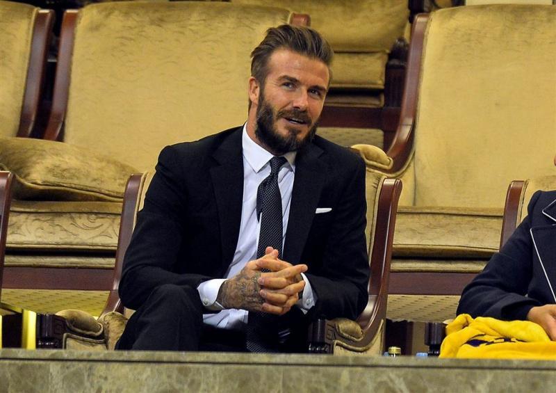 David Beckham is meest sexy man op aarde