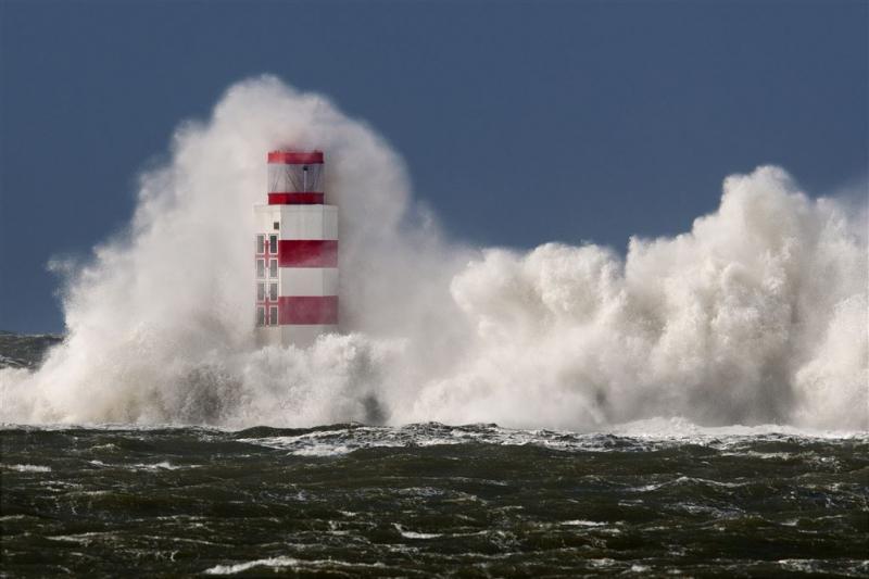 Zwaarste windstoot 116 kilometer per uur
