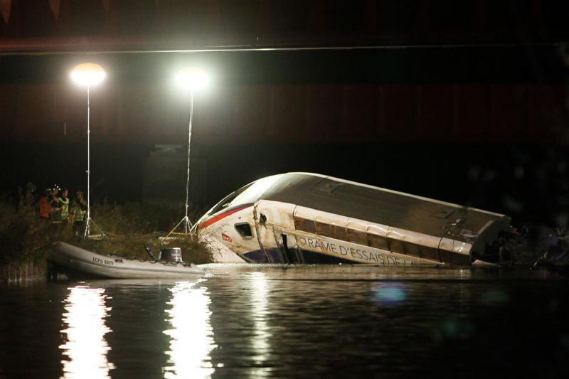 TGV ontspoorde door te hard rijden
