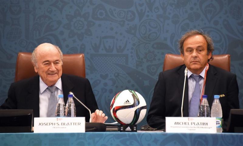 Blatter en Platini stappen naar CAS