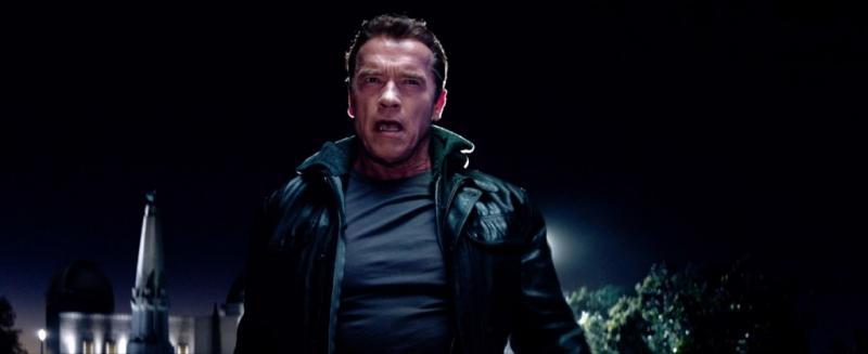 Schwarzenegger in Terminator: Genisys