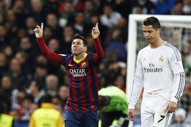 Messi maakte vaak het verschil tegen Real