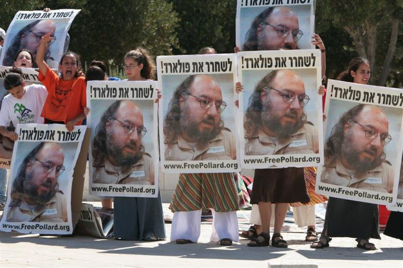 VS laten spion Israël voorwaardelijk vrij