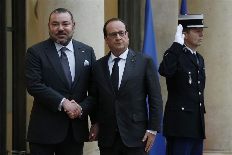 Hollande bedankt Marokkaanse koning voor hulp
