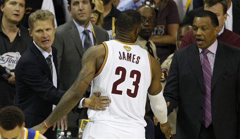 LeBron James ziet Cleveland groeien