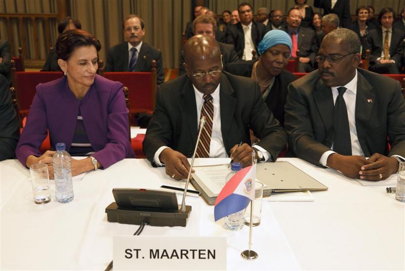 Nieuwe regering voor Sint-Maarten