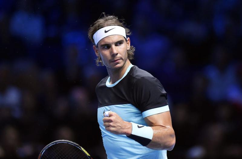 Nadal wint ook derde partij op Finals