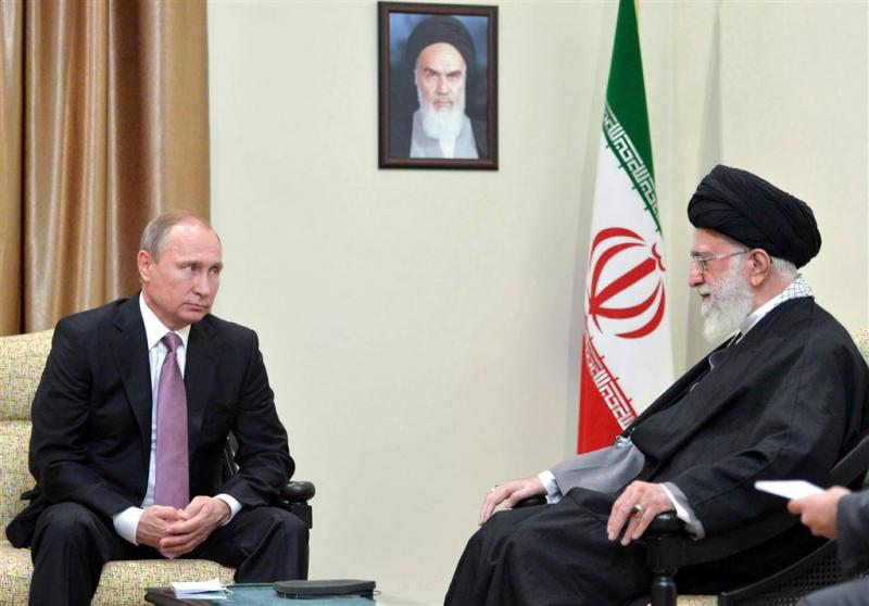 Poetin en Chamenei eens over kwalijke rol VS