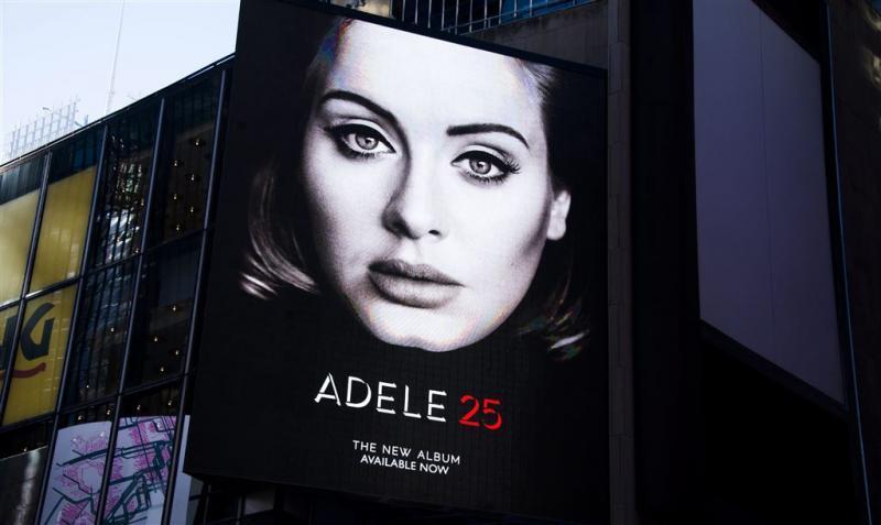 Adele op weg naar verkooprecord in VS