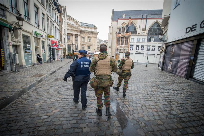 Openbaar leven Brussel nagenoeg stilgevallen