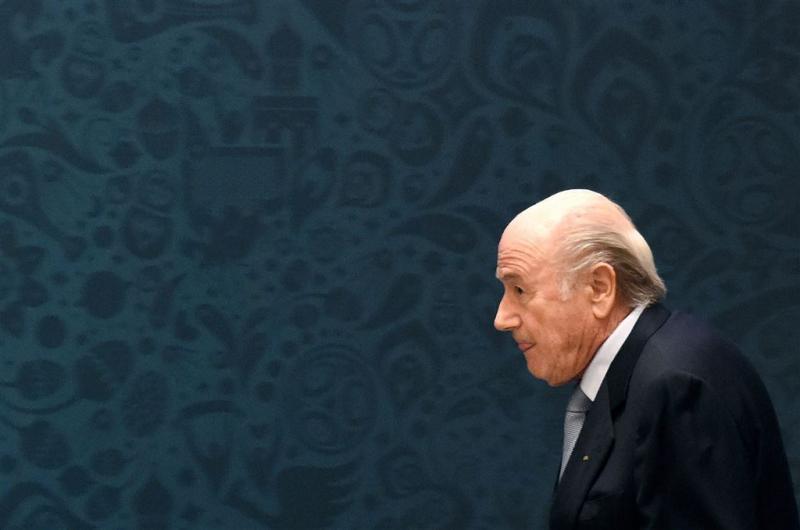 Blatter: bijna dood