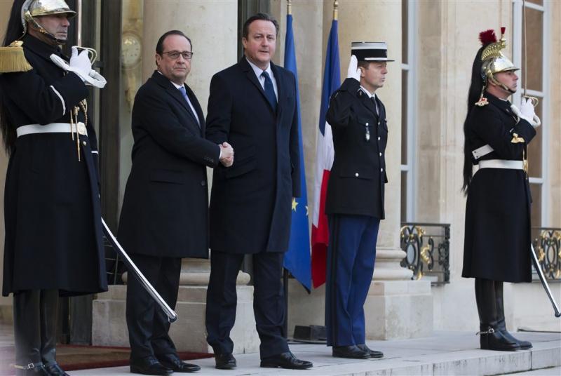 Hollande en Cameron slaan handen ineen