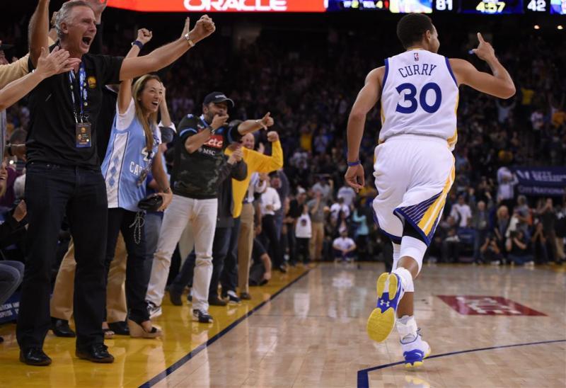 Golden State Warriors evenaren recordreeks