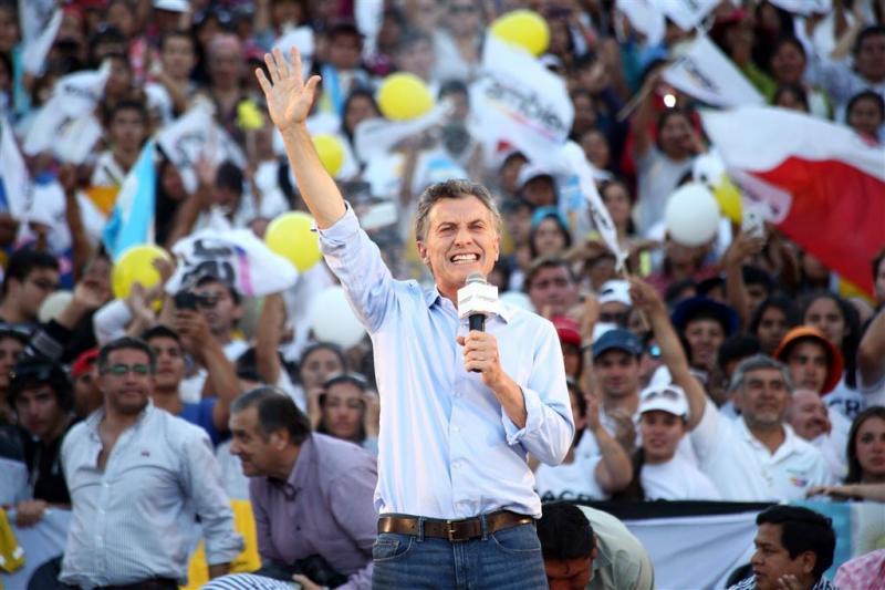 Mauricio Macri nieuwe president Argentinië