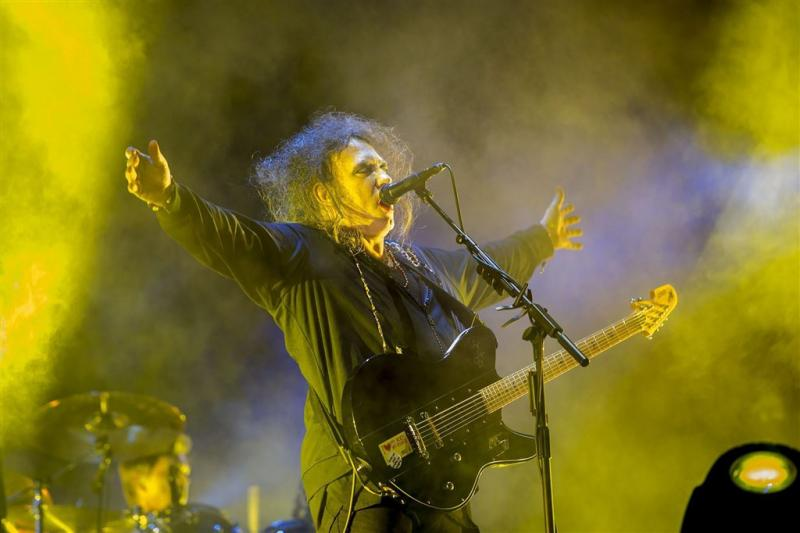 The Cure speelt in Amsterdam
