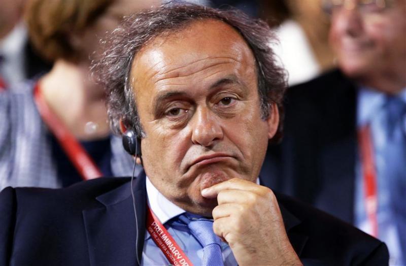 'Levenslange schorsing dreigt voor Platini'