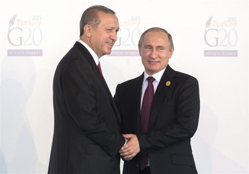 Poetin weigert contact met Erdogan