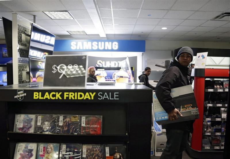 Drukte bij winkels op Black Friday blijft uit