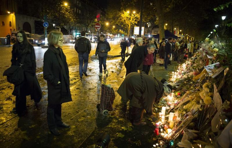 Frankrijk herdenkt slachtoffers aanslagen