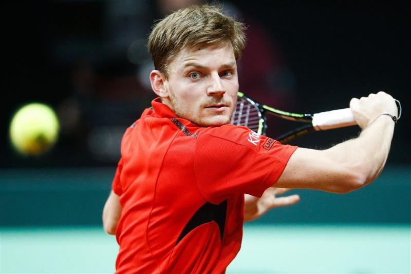 Belgen op voorsprong in Daviscup