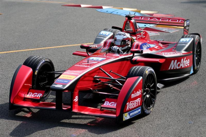 Robotraces in de Formule E