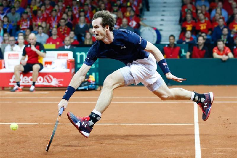 Murray brengt Britten weer naast België