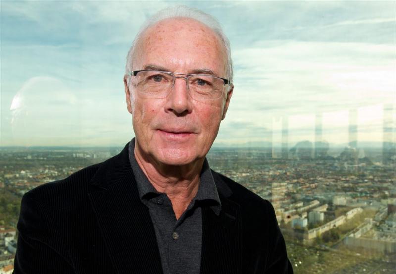 Bayern steunt erevoorzitter Beckenbauer