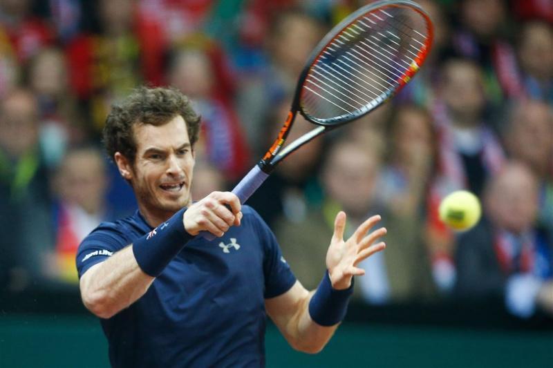 Murray bezorgt Britten Daviscup