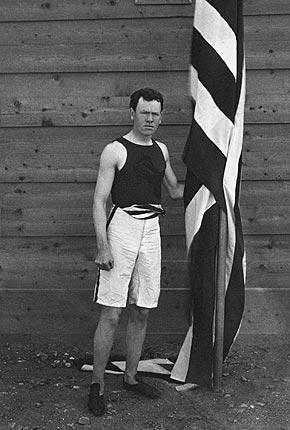 James Connolly, de eerste olympisch kampioen in de moderne tijd (WikiCommons/Jonel)