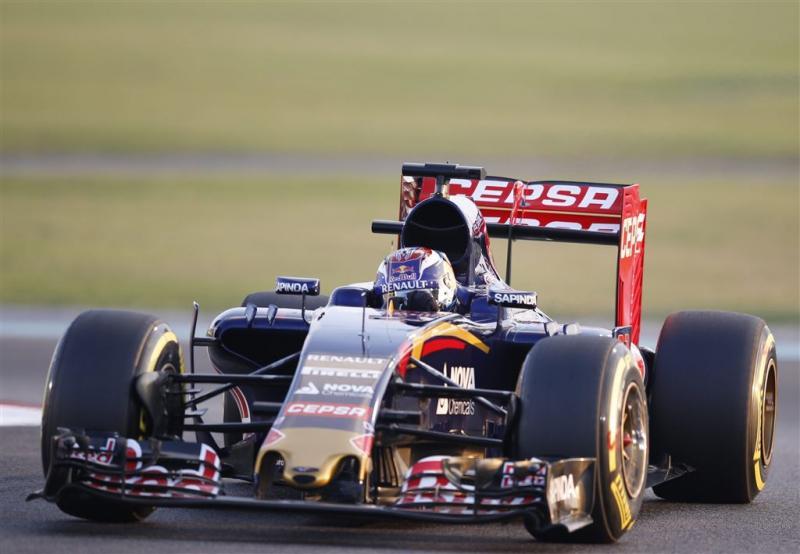 Verstappen met Ferrari-motor bij Toro Rosso