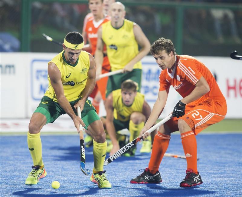 Australië verslaat Oranje in halve finale HWL