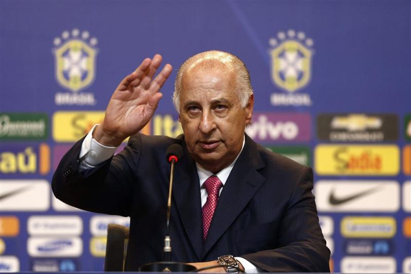 Braziliaanse preses voetbalbond met verlof