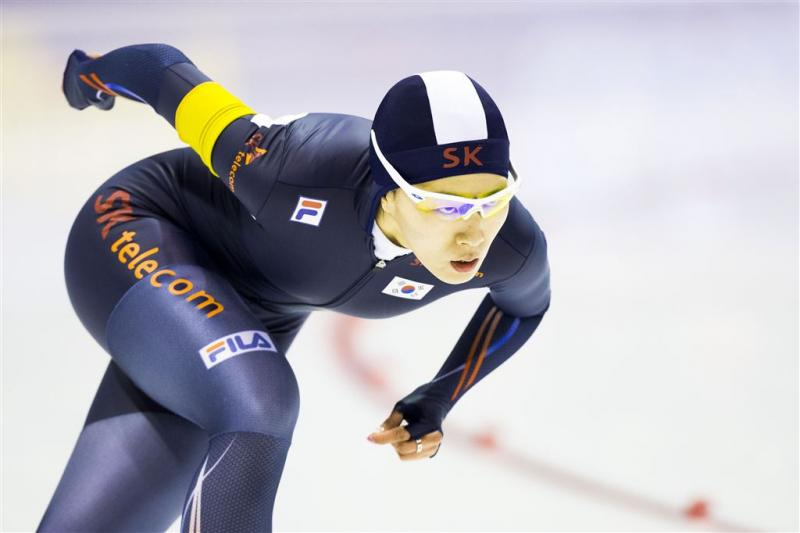 Lee Sang-hwa wint 500 meter in Inzell