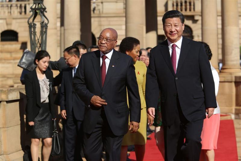China belooft 55 miljard euro aan Afrika
