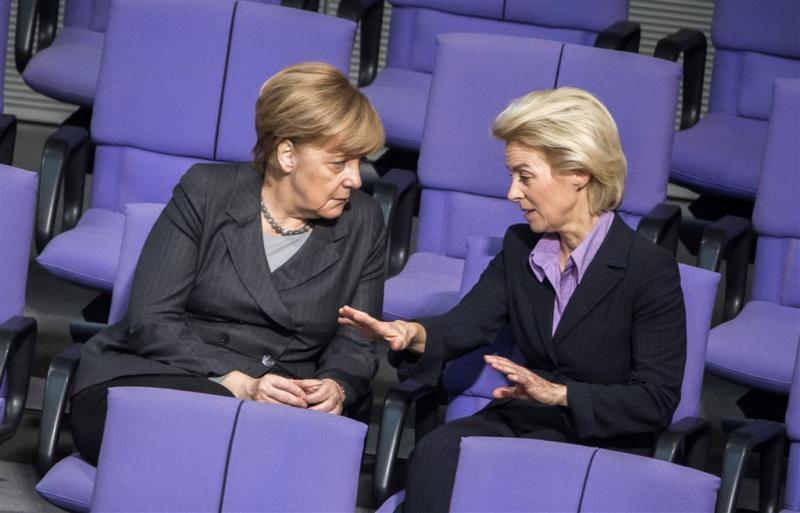 Duitse Bondsdag stemt in met actie tegen IS