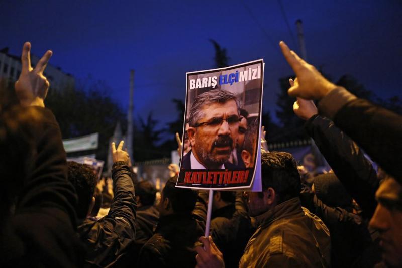 Betoging om rector Islamitische Universiteit