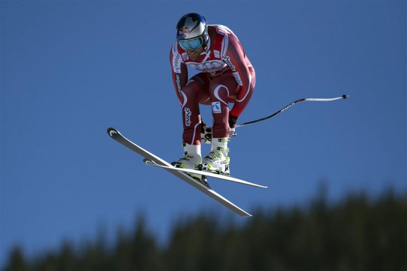 Skiër Svindal blijft winnen