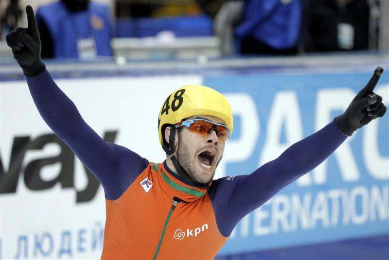 Knegt wint eindelijk een wereldbekerwedstrijd