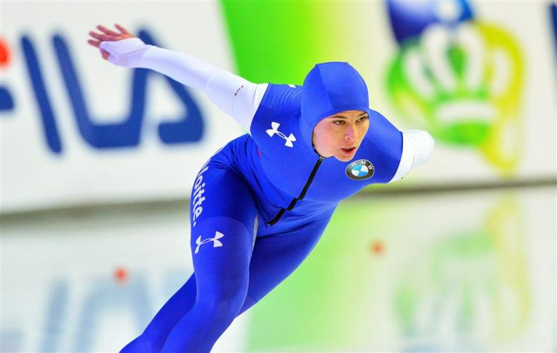 Bowe wint 1000 meter in baanrecord