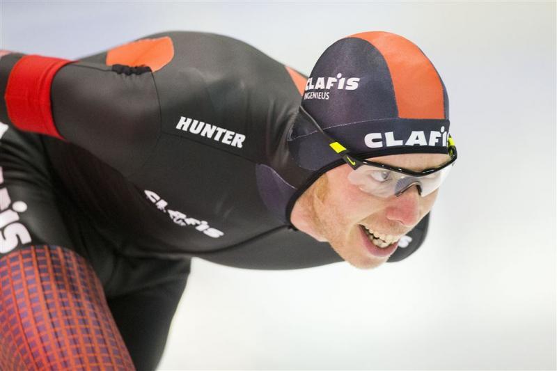 Bergsma wint 5000 meter in Inzell