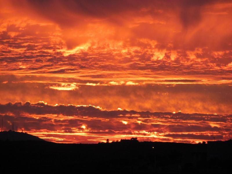 Zonsondergang in Portugal  (Foto: klapmongeaul)