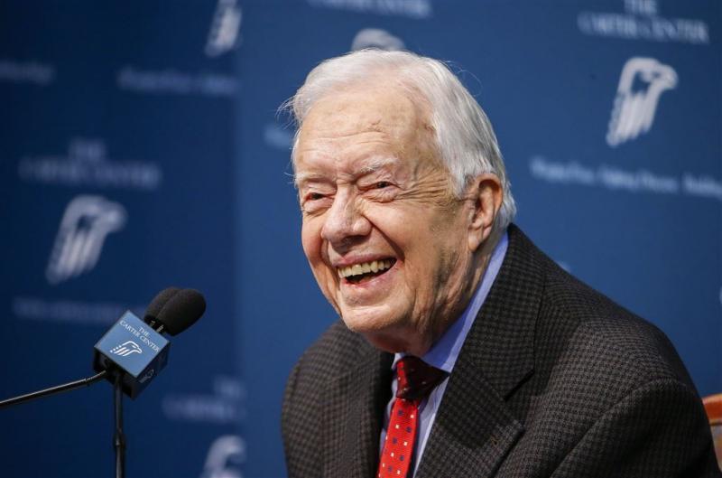 Jimmy Carter is 'kankervrij'