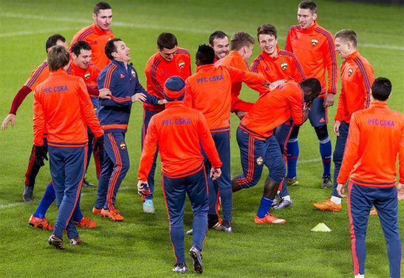 CSKA wil slechte reeks doorbreken tegen PSV