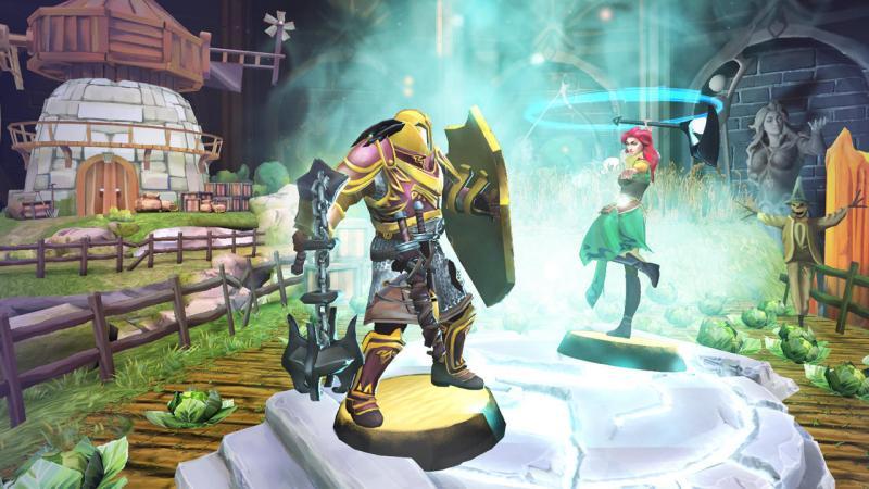 Chronicle: RuneScape Legends Gevecht