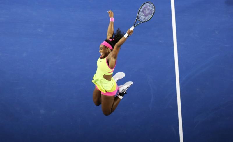 Williams is doblij met het winnen van de Australian Open (Pro Shots / Action Images)