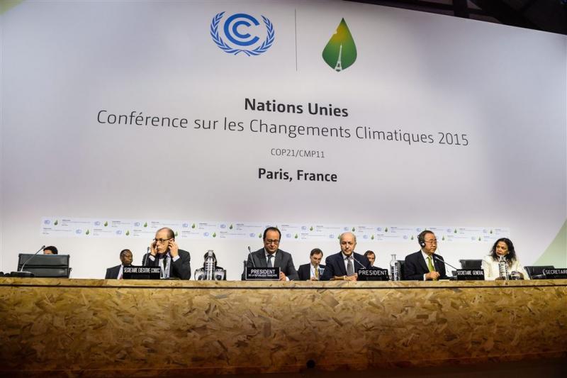 Bindend klimaatverdrag aangenomen
